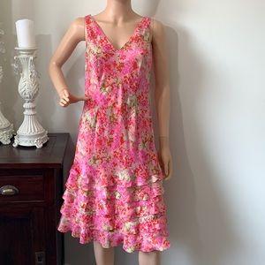 Ann Taylor gorgeous silk dress